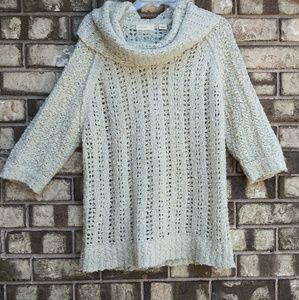 Anthropologie sleeping on snow cowl neck sweater